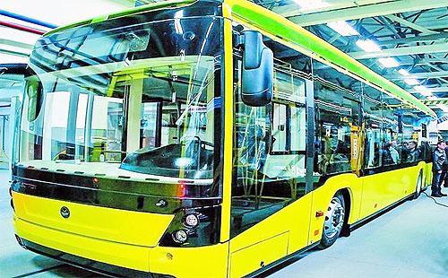 Мариуполь закупит 64 новых автобусов