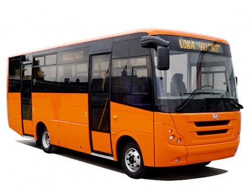 ЗАЗ разработал новую модель автобуса А08