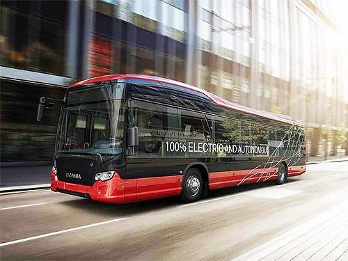 Scania запустит автономный электробус по городскому маршруту