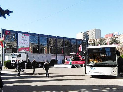 МАЗ принял участие в выставке Made in Belarus в Грузии