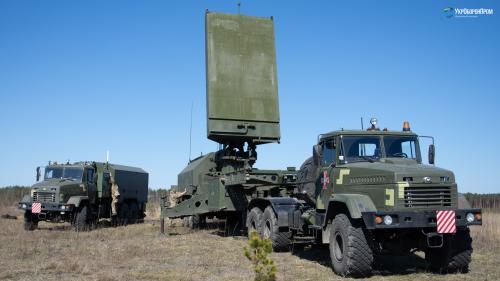 В Украине создали собственный контрбатарейный радар на шасси КрАЗ