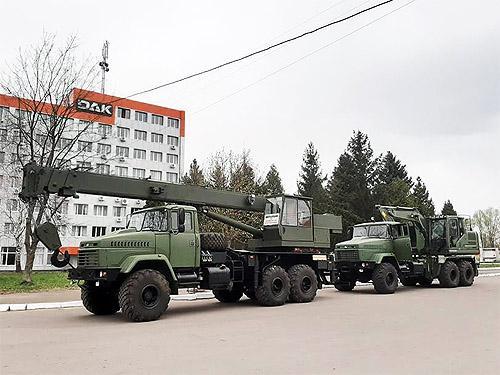 Дрогобычский завод автокранов возобновил производство