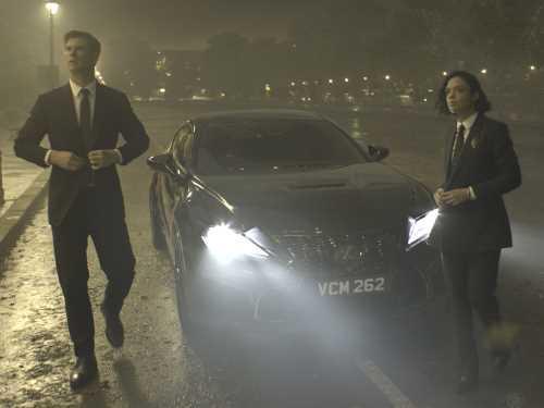 Lexus RC F снялся новом фильме «Люди в черном: Интернешнл»