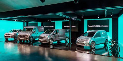 Renault представила 4 новые модели коммерческих автомобилей