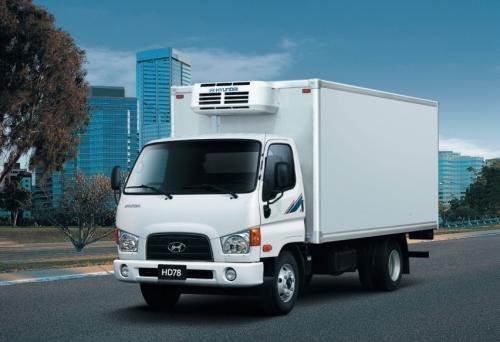 На украинский рынок выходит рестайлинговый грузовик Hyundai HD78E4