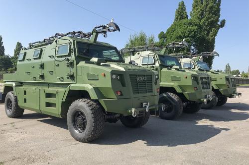 КрАЗ поставил партию бронированных автомобилей Shrek-M на экспорт