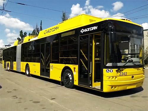 Киев отменил тендер по закупке 15 троллейбусов