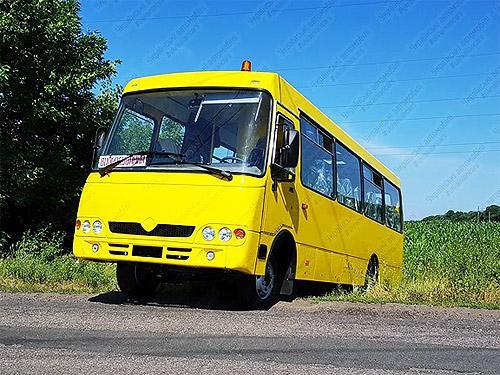 В Украине разработали еще один автобус 4х4