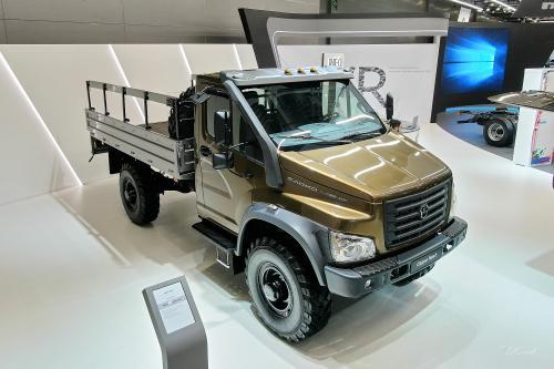 ГАЗ представил полноприводный грузовик семейства Next