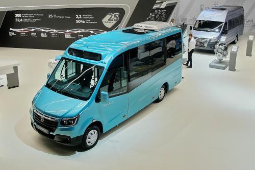 ГАЗ разработал 17-местный микроавтобус с низким полом