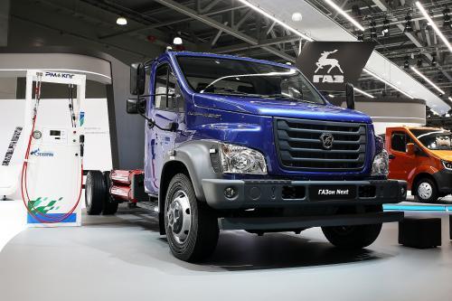 У ГАЗ появился универсальный грузовик, который может работать на двух типах газообразного топлива