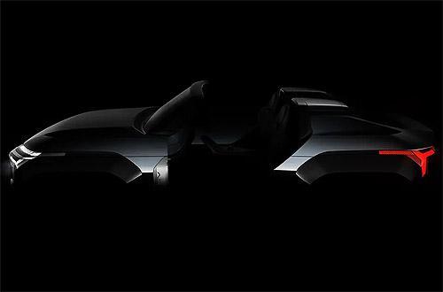 Mitsubishi покажет концепт гибридного кроссовера с газотурбинным двигателем