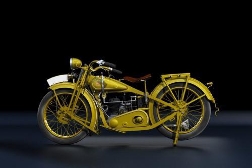 Каким был самый первый украинский мотоцикл. Архивные фото