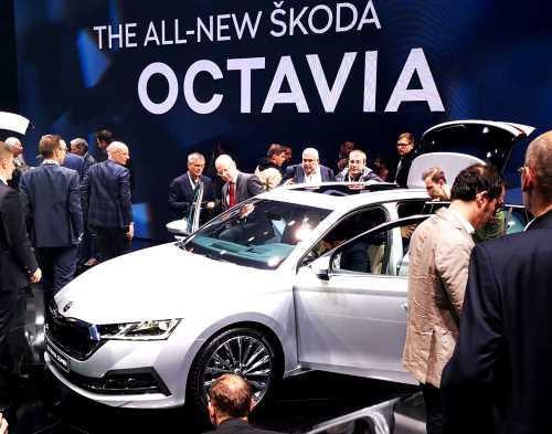 Дебютировало новое поколение Skoda Octavia