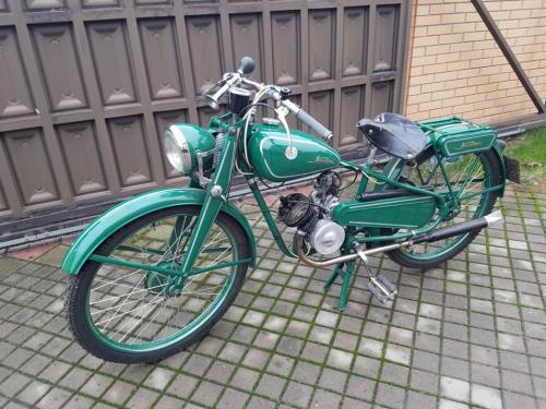 В Киев вернули самый первый мотоцикл производства КМЗ