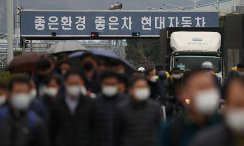 Hyundai остановил свой крупнейший автозавод в Южной Корее