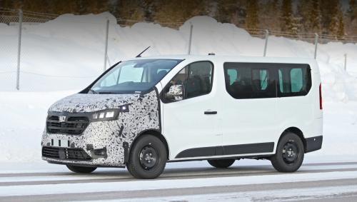Каким будет новое поколение Renault Trafic