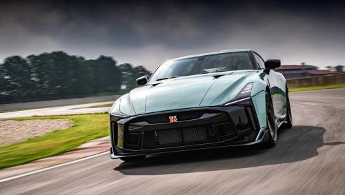 Ателье Italdesign представило собственную версию Nissan GT-R50