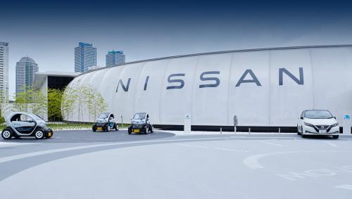 Оплата парковки электроэнергией, накопители и энергонезависимые дома. Nissan открыл павильон, имитирующий город будущего