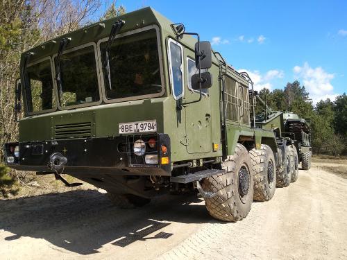 МЗКТ разработал новый тягач для транспортировки танков по пересеченной местности
