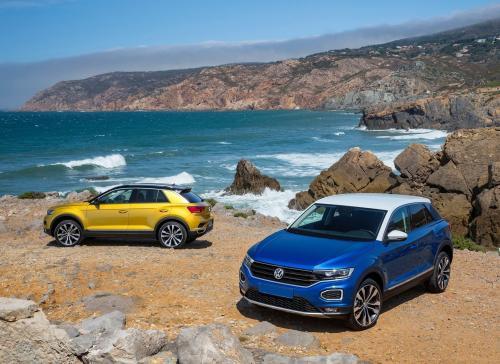 Volkswagen уже скоро привезет в Украину партию ярких кроссоверов T-Roc