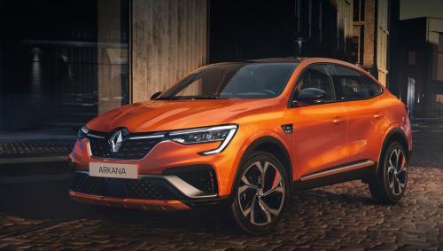 Renault Arkana выйдет на европейский рынок в 2021 году, но будет другой, чем в Украине