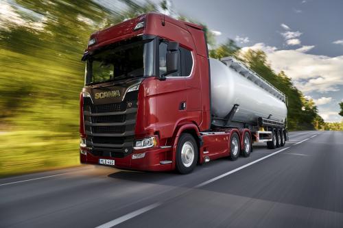 Scania представила самый мощный двигатель на рынке - 770 л.с.