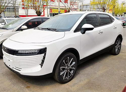 В Украине появился новый китайский электрокар с необычным дизайном