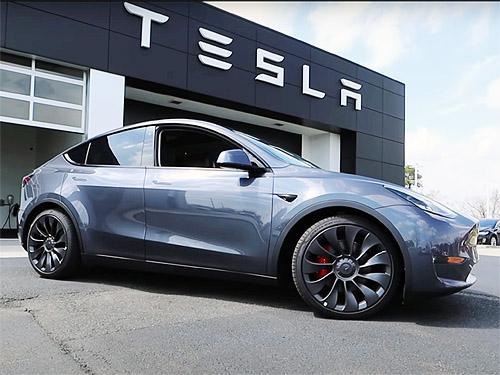 В Украине проданы первые Tesla Model Y