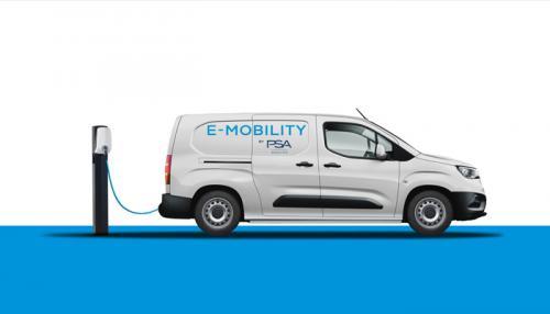 Группа PSA в 2021 году запустит электрические версии для всех компактных коммерческих фургонов PEUGEOT, CITROЁN, OPEL, Vauxhall