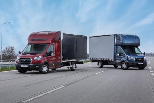 Ford представил Transit L5 с увеличенным шасси для дальних перевозок - Ford