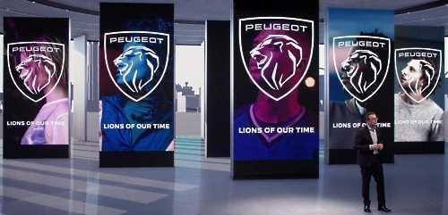Молодое лицо: каким будет новый логотип Peugeot - Peugeot