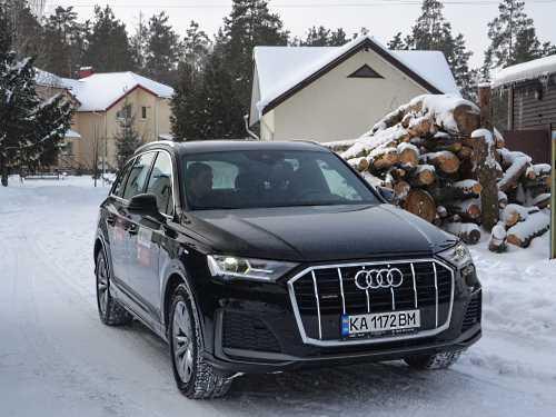 За и против большого SUV. Первое знакомство с Audi Q7 - Audi