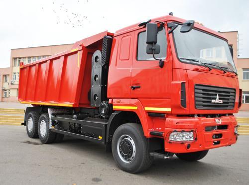 МАЗ представил самосвал на газовом топливе - МАЗ