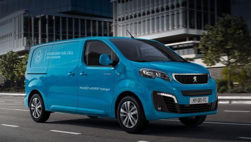 Водородный Peugeot e-Expert выйдет на рынок в 2021 году