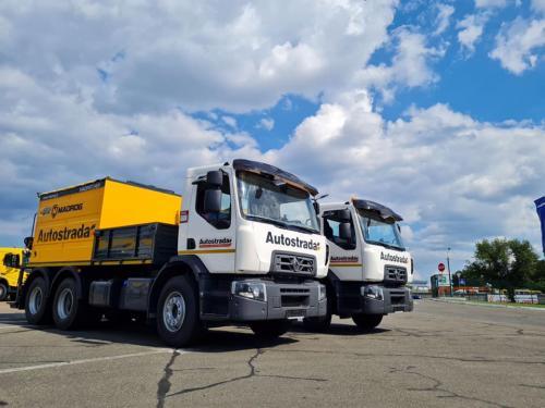 Установки для ямочного ремонта смонтировали на шасси Renault Trucks