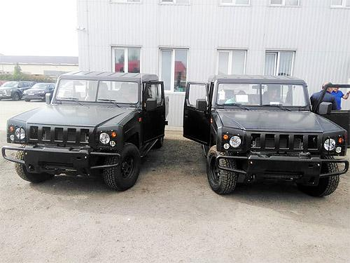 В Украину начались поставки внедорожников китайской армии - BAW