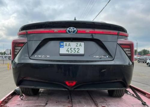 В Украине зарегистрировали первый водородный автомобиль - водород