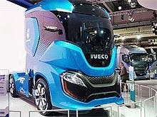 Iveco представила концептуальный грузовик с нестандартной планировкой кабины