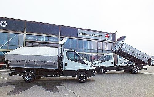 В Украине создали легкий самосвал грузоподъемностью 3,7 т - IVECO