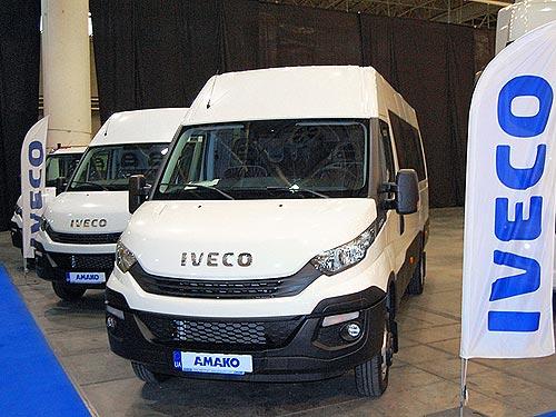 В Украине представили новый автобус на шасси IVECO