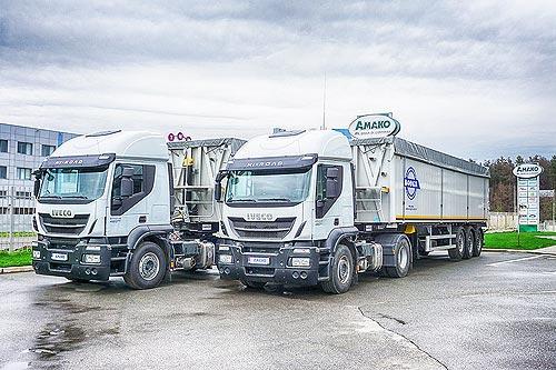 IVECO наращивает поставки зерновозов в Украину