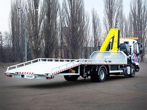 В Украине изготовили эвакуатор на базе IVECO EuroCargo - IVECO