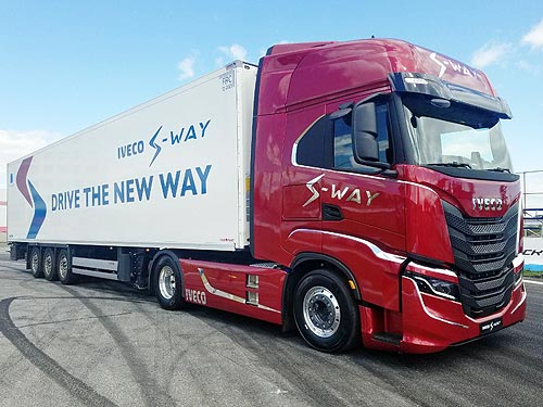 В Украине дебютировал новый IVECO S-Way