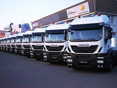 Компания АМАКО передала партию тягачей IVECO Stralis 6x4 для перевозки газа