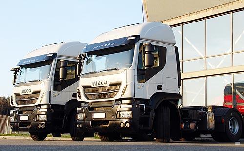В Украине снижены цены на тягачи IVECO Stralis