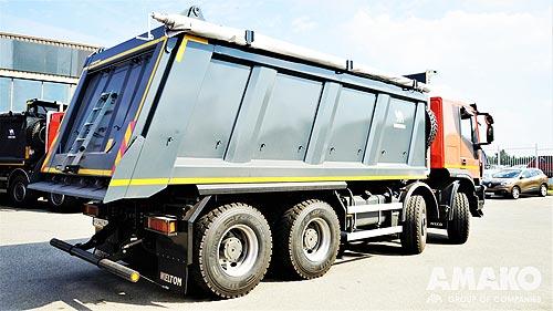 Дорожно-строительная компания третий год подряд выбирает самосвалы IVECO Trakker - IVECO