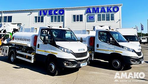 «Автомагистраль-Юг» закупила еще два топливозаправщика на шасси IVECO Daily