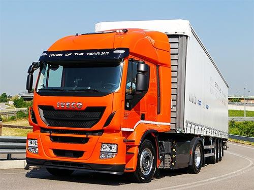 В Украине стартовали продажи грузовиков IVECO Stralis на природном газе