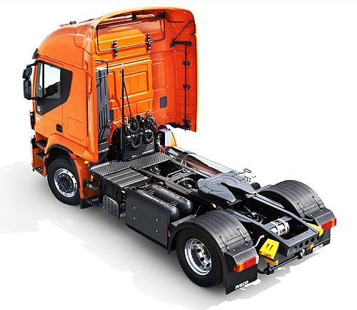 В Украине стартовали продажи грузовиков IVECO Stralis на природном газе - IVECO